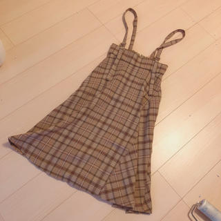 JILL by JILLSTUART - ジルバイジルスチュアート サスペンダー付きスカート