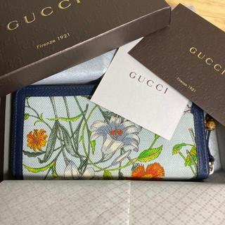 Gucci - GUCCI グッチ 長財布 バンブータッセル フローラ 限定モデル