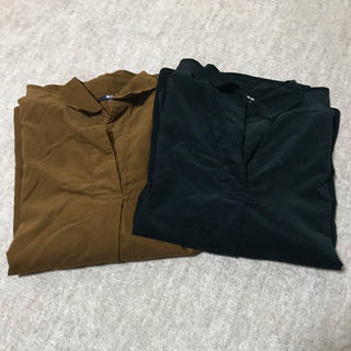 ユニクロ(UNIQLO)のコーデュロイシャツ(シャツ/ブラウス(長袖/七分))