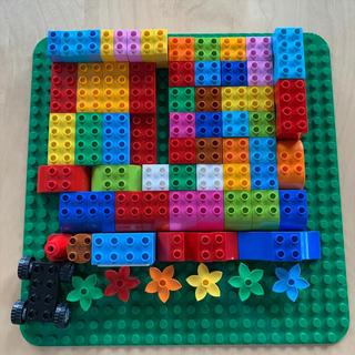 Lego - レゴデュプロ ブロック&基礎板 計76パーツ