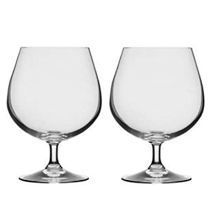 トウヨウササキガラス(東洋佐々木ガラス)のクリスタル ブランデーグラス 2コセット(グラス/カップ)