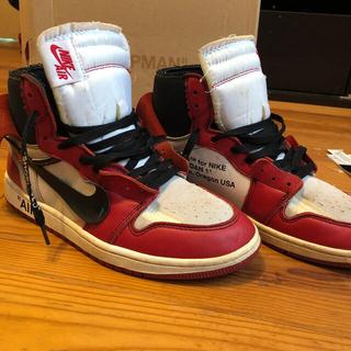 OFF-WHITE - オフホワイト スニーカー Air Jordan1 THE TEN