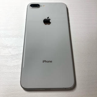 iPhone - iPhone 8 plus Silver 64 GB SIMロック解除品