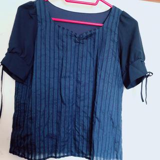 マジェスティックレゴン(MAJESTIC LEGON)の半袖トップス(シャツ/ブラウス(半袖/袖なし))