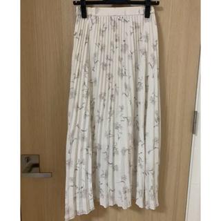 PROPORTION BODY DRESSING - フラワープリーツスカート