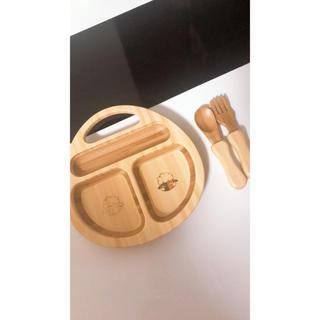 アグリー(UGLY)のアグニーお皿 スプーン フォーク ベビー食器セット(離乳食器セット)