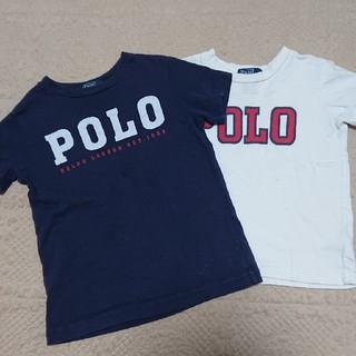 POLO RALPH LAUREN - ☆外遊び着として☆ラルフローレン☆Tシャツ☆2枚セット☆3T(110相当)