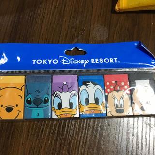 Disney - 未使用!ディズニーリゾートの消しゴム6個
