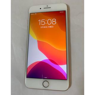 Apple - 美品 iPhone8 plus 64gb  ゴールド simフリー docomo