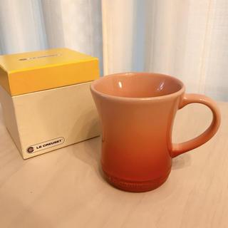 ルクルーゼ(LE CREUSET)のル・クルーゼ マグカップ 箱有り オレンジ レッド(グラス/カップ)