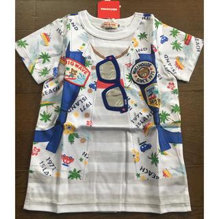 mikihouse - 新品タグ付き★ミキハウス★プッチーくん・だまし絵Tシャツ