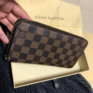 LOUIS VUITTON - 良品 正規品 ルイヴィトン ダミエ ジッピーウォレット 長財布