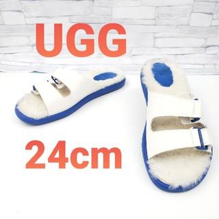 UGG - 【UGG】 アグ マッカーティームートンサンダル
