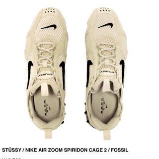 NIKE - 28.5cm Stussy x Nike Air Zoom Spiridon