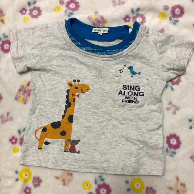 3can4on(サンカンシオン)の3CAN4ON Tシャツ90 キッズ/ベビー/マタニティのキッズ服男の子用(90cm~)(Tシャツ/カットソー)の商品写真