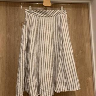 マジェスティックレゴン(MAJESTIC LEGON)のストライプスカート(ひざ丈スカート)