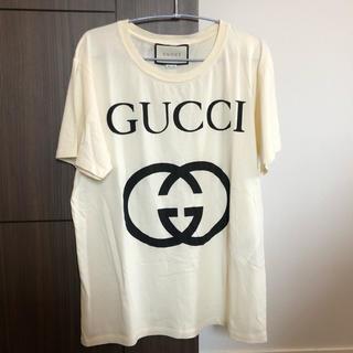 Gucci - 美品Gucciグッチ ロゴTシャツ インターロッキング メンズXS