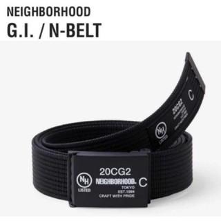 ネイバーフッド(NEIGHBORHOOD)のNIGHBORHOOD G.I./N-BELT ネイバーフッド ベルト黒新品(ベルト)