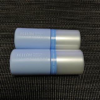 アクセーヌ(ACSEINE)のACSEINE シーバムウォッシュ 洗顔料 25g  2本 セット(サンプル/トライアルキット)