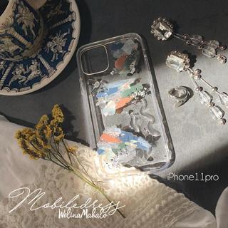 Ameri VINTAGE - 1点物。世界に1つのニュアンスアートデザイン.*iPhoneケース.スマホケース