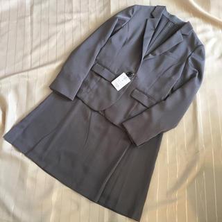 THE SUIT COMPANY - スーツ 9号 レディース グレー フレッシャーズ 通勤