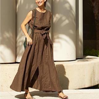 L'Appartement DEUXIEME CLASSE - rei. Linen Dress リネン マキシワンピース ブレンダ ハワイ