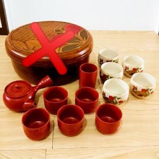 茶道具 お茶 セット 急須 きゅうす まとめ売り 花 センス 亮泉 南泉 峰山作(食器)