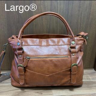 Legato Largo - Largo レザー ショルダーバッグ
