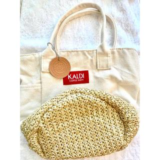 KALDI - KALDI カルディ エコバッグ 春のコーヒーバッグ 春 春バッグ