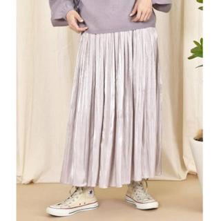 w closet - \\キャンペーン中// シャイニーサテン×チュールリバーシブルスカート