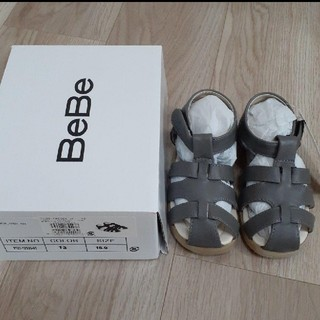 BeBe - Bebe カメサンダル サンダル 16cm