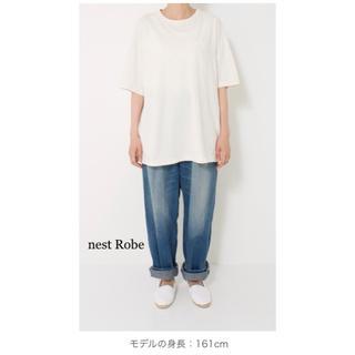 ネストローブ(nest Robe)の試着のみ【nest Robe】コットンドライ天竺ビッグTee(Tシャツ(半袖/袖なし))