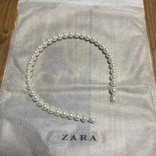 ZARA - 【ZARA】パールカチューシャ