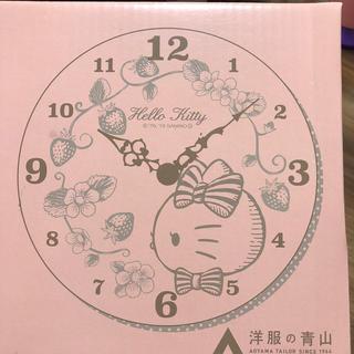 ハローキティ(ハローキティ)のキティちゃん ウォールクロック(掛時計/柱時計)
