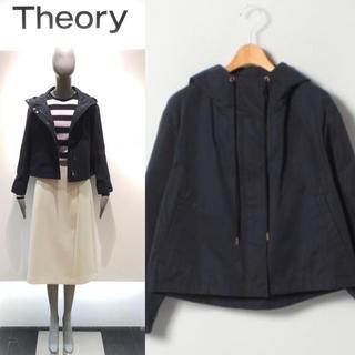 theory - 定価42900円 2019ss セオリー フード付き スプリング ジャケット S