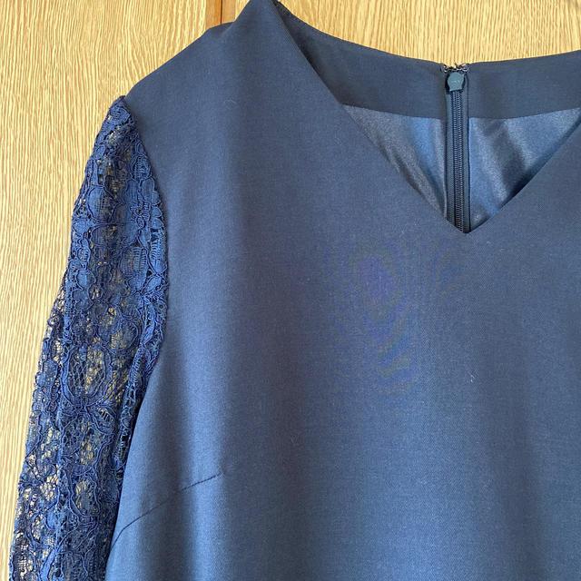 green label relaxing(グリーンレーベルリラクシング)のgreen label relaxing パーティ 膝丈 ドレス レディースのフォーマル/ドレス(ミディアムドレス)の商品写真