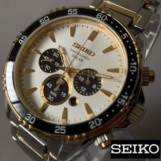 セイコー(SEIKO)の【新品】大人の風格★セイコー クロノグラフ SEIKO(腕時計(アナログ))