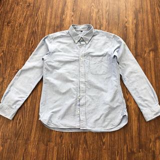 ムジルシリョウヒン(MUJI (無印良品))の無印良品 ライトブルー シャツ XL メンズ(シャツ)
