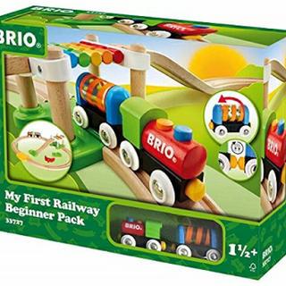 ブリオ(BRIO)のBRIO はじめてのレールセット 新品未使用(電車のおもちゃ/車)