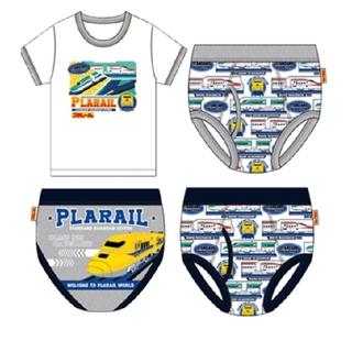 Takara Tomy - プラレール インナー4点セット 120 シャツ パンツ 下着セット 保育園 新品