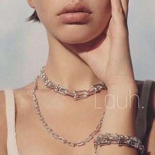 TOMORROWLAND - j296.link bracelet medium(silver)