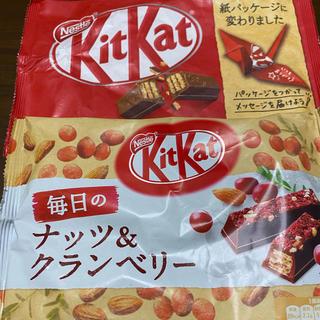 キットカット2種類(菓子/デザート)