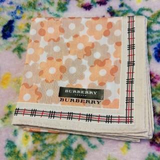 BURBERRY - 新品未使用 ✤ Burberry  バーバリー  大判ハンカチ