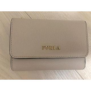 Furla - FURLA 二つ折り財布 グレー
