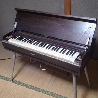 ヤマハ(ヤマハ)のヤマハ オルガン  レトロ  アンティーク インテリア(電子ピアノ)