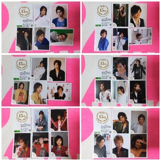 NEWS - ☆★NEWS 加藤シゲアキくん 15th ミニフォト 6セット30枚★☆