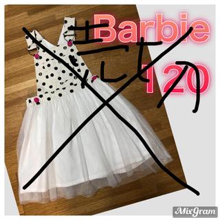 Barbie - Barbie♡ジャンパースカート♡120 中古