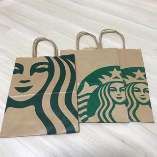 スターバックスコーヒー(Starbucks Coffee)のスターバックス ショッパー 3枚(その他)