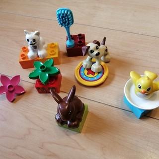 レゴ(Lego)のレゴ デュプロ 5点セットに変更 まちのかわいいペットセット(その他)