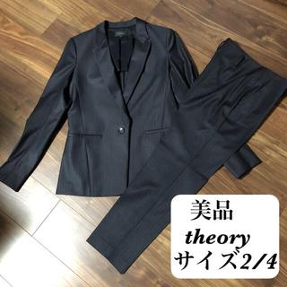 theory - 美品!セオリー パンツスーツ 9号 11号 就活 リクルート  入学式 通勤